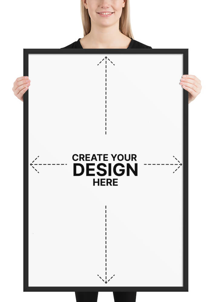 Create your own poster with your design on jeekls.com!