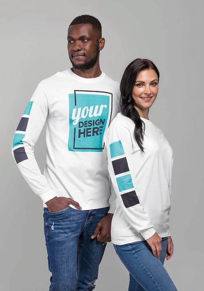 Customize your long-sleeve shirt on jeekls.com!