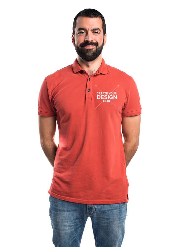 Customize your polo shirt on jeekls.com!